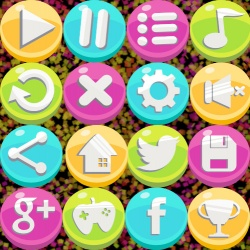 ACKOSMIC Buttons Pack 01 Logo Image
