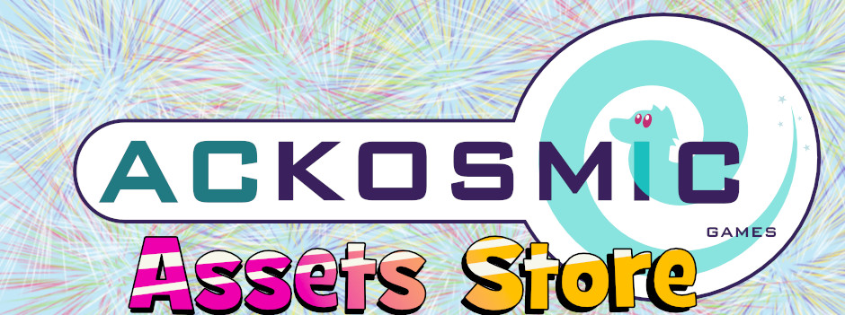 ACKOSMIC Assets Store Fixed Banner Image