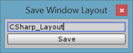 Unity Tutorial. Unity Editor Layout button Image from Ackosmic Games