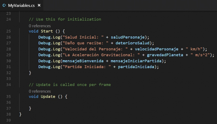Unity Tutorial. C Sharp (C#). Unity Visual Studio Code Image from Ackosmic Games