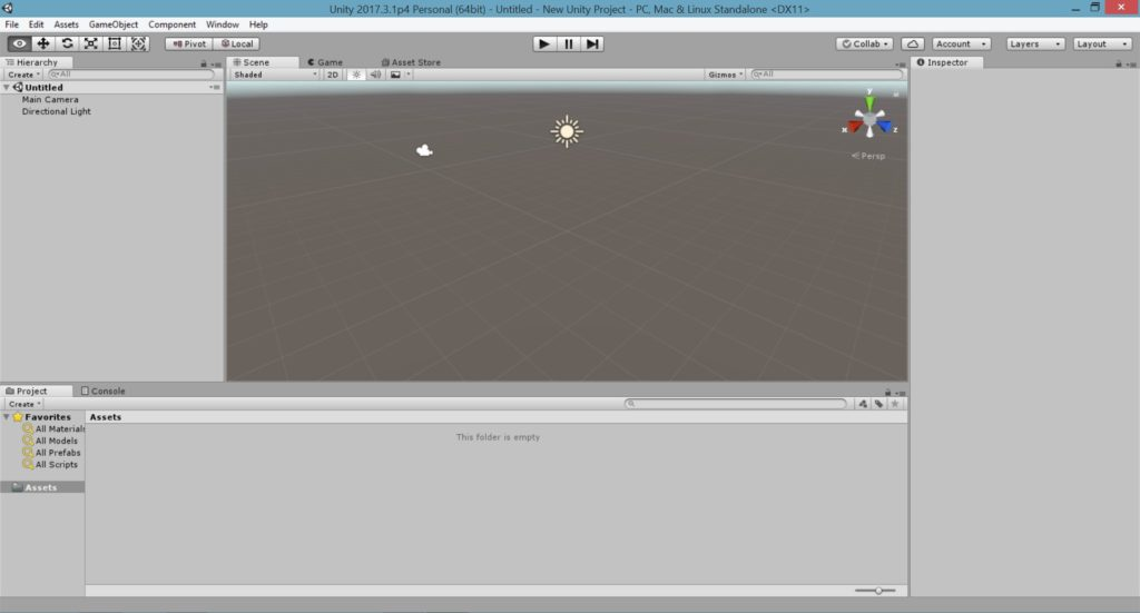 1  First Steps with Unity - ACKOSMIC Games - Great Games