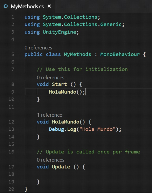 Unity Tutorial. C Sharp (C#). Unity Visual Studio Code Image from Ackosmic Games